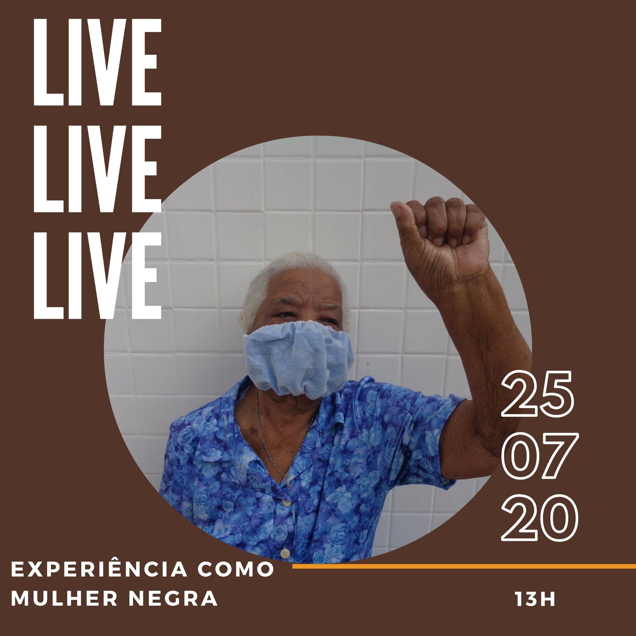 Live Minha Avó post